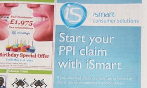 The hidden costs of free ppi awards money the guardian one of many ads offering to claim your ppi compensation spiritdancerdesigns Image collections