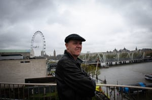 Adrian: Adrian Searle admires the view from The Room for London, on the Southbank