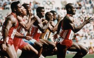 Seoul Olympics: 100 Meter Race, Seoul, 1988