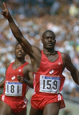 Seoul Olympics: Ben Johnson, 1988