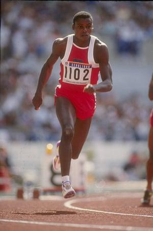 Seoul Olympics: Carl Lewis