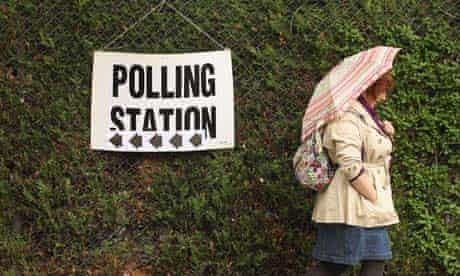 polling station, London