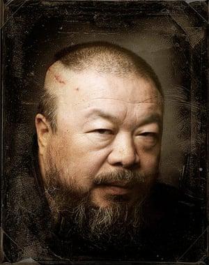 Ai Weiwei Serpentine: Ai Weiwei portrait