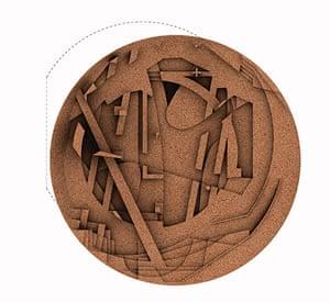 Ai Weiwei Serpentine: Cork landscape