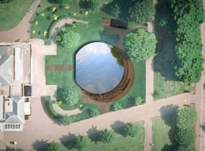 Ai Weiwei Serpentine: Aerial view