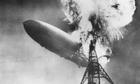 Hindenburg air ship disaster