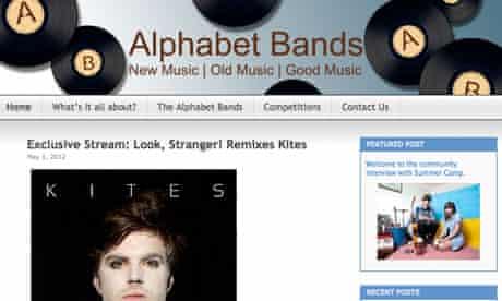 Music blog Alphabet Bands