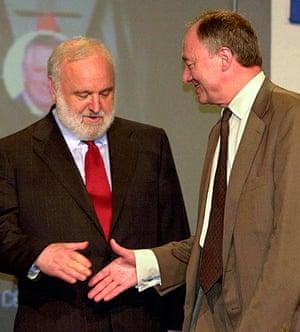 Ken Livingstone: London Mayor Livingstone with Frank Dobson