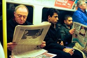 Ken Livingstone: Ken Livingstone on the Tube