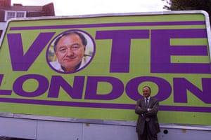 Ken Livingstone: Ken Livingstone launches his campaign to become Major of London