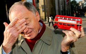 Ken Livingstone: London's Mayor Ken Livingstone holds a R