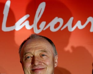 Ken Livingstone: Livingstone at a presser to confirm him as Labour candidate for mayor