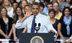 Obama Visits VA High School, Discusses Student Loans