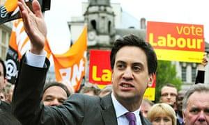 Ed Miliband celebrates Labour winning Birmingham