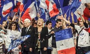 Marine le Pen in Lyon
