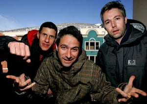 Adam Yauch Obituary: File photo of The Beastie Boys at the 2006 Sundance Film Festival