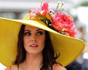 Kentucky Derby: Tamara Sorrell, from Austin, Texas