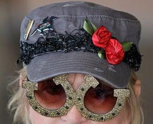 Kentucky Derby: Sandy Cousins wears a fancy hat