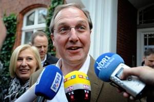 Elections: Top canditate Jost de Jager of the German Christian Democrats