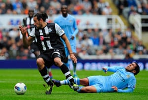 sport4: Newcastle United v Manchester City - Premier League