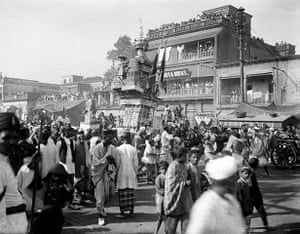 British Raj photographs: A Muhurram procession in Kolkata