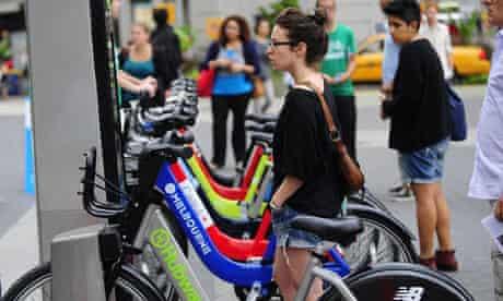 New York bike sharing Citi Bike
