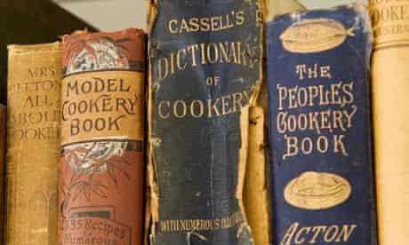 Antique recipe books