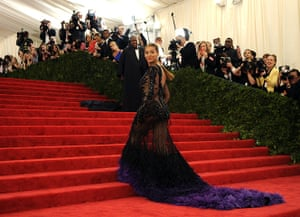 Picture desk live: Beyonce attends the Costume Institute Benefit in New York