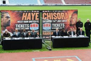 boxing: Frank Warren Makes Major Boxing Announcement At West Ham United FC