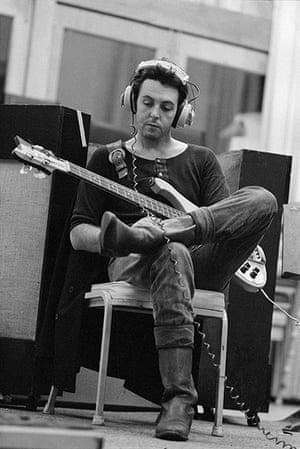 RAM: Paul in the studio