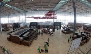 Willy Brandt airport in Berlin