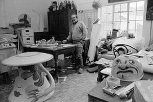Maurice Sendak: Maurice Sendak set design for Glyndebourne