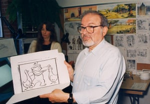 Maurice Sendak: Sendak supervises Nickolodeon's animation of Little Bear