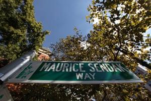Maurice Sendak: Maurice Sendak Way in lower Manhattan, New York