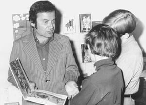 Maurice Sendak: Sendak with his book Where the Wild Things Are in 1971