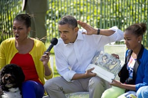 Maurice Sendak: Barack Obama and Michelle Obama reads from Where the Wild Things Are