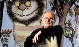 Maurice Sendak with Max from Where The Wild Things Are