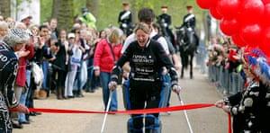 Picture desk live: Paralysed Claire Lomas finishes London Marathon