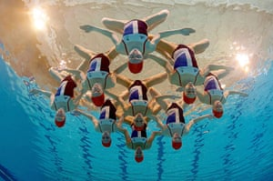 Picture desk live: The British Synchronised Swimming team are announced for the 2012 Olympics