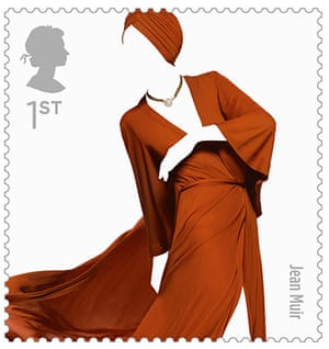 Big picture: Big Picture, fashion stamps, Jean Muir