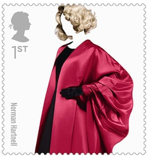 Big picture: Big Picture, fashion stamps, Norman hartnell