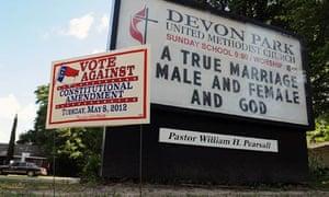 North Carolina gay rights vote