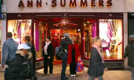 An Ann Summers shop