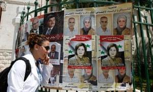 Syrian parliamentary election begin amid heavy security