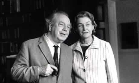 JB Priestley and Jacquetta Hawkes