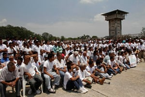 Longer View: Prisoners gather for a Catholic Mass