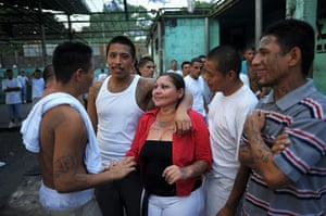 Longer View: Members of the 18th street gang