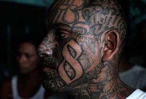 Longer View: A Mara 18 gang member