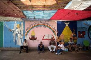 Longer View: Inmates remain in the chapel of La Esperanza Jail