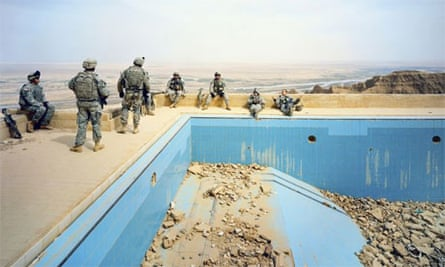 Pool at Uday Hussein's Palace, by Richard Mosse